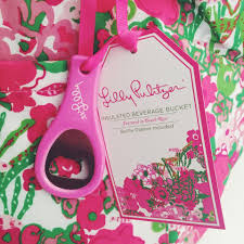 pulitzer lilly pulitzer insulated beverage bucket featured in