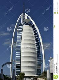 burj al arab hotel in dubai united arab emirates editorial photo