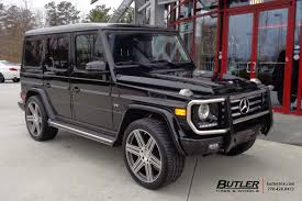 lifted mercedes mercedes g class with 22in mandrus atlas wheels exclusively from