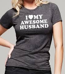 wedding gift i my awesome husband t shirt womens tshirt fathers