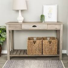 Entry Console Table 48 Inch Country Style Entry Console Table Free Shipping Today