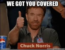 We Got This Meme - we got you covered chuck norris approves meme generator