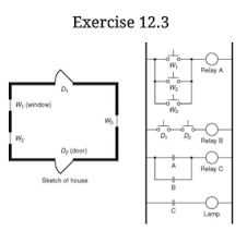 1 draw a relay wiring diagram for a circuit that chegg com