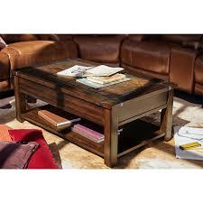 slate wood coffee table slate ridge lift top cocktail table cherry value city furniture