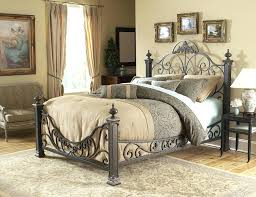 black wrought iron headboard twin queen beds