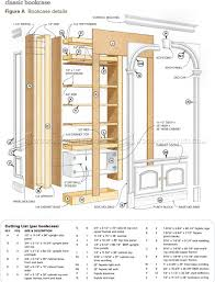 floor to ceiling bookcase plans classic arch top bookcases plans u2022 woodarchivist