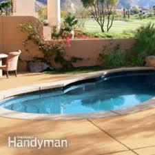 renew your concrete patio how to stain concrete family handyman