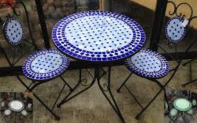 B Q Bistro Chairs Mosaic Table And Chairs Bq Homebase Garden Chair Sets Bistro Set