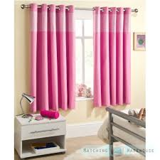 Pink Gingham Curtains Childrens Gingham Curtain Thermal Blockout Eyelet Ring Top