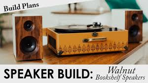 Bookshelf Audio Speakers Walnut Bookshelf Speakers Build Plans Diy Passive Speaker