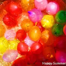 inflated balloons delivered summer water balloons magic balloons strong rubber ring with tool