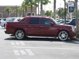 cadillac ext truck burgundy cadillac escalade ext truck 1 madwhips
