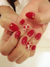 nail art 46 singular heart nail art picture design nail art