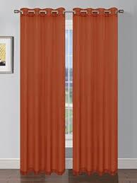 Sheer Elegance Curtains Window Elements Sheer Elegance Faux Linen Wide 108 X 84 In
