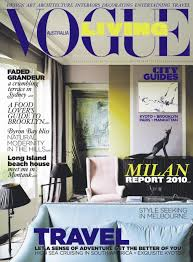 Vogue Home Decor Vogue Living Australia Gets A New Look For July August 2010 Nice