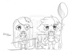 229 best da yampuff images on pinterest chibi coloring and