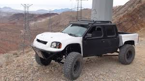 2003 nissan xterra lifted testing 1 2003 nissan frontier long travel build 2wd youtube