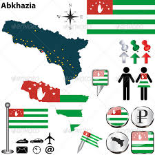 map of abkhazia map of abkhazia by sateda2012 graphicriver