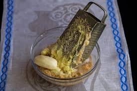 potato pancake grater potatoes shredded on a grater stock image image of russian