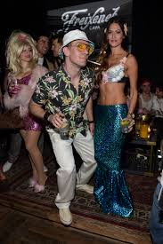 jc chasez as hunter s thompson couple halloween halloween