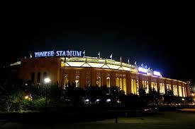 yankee stadium home run lights day 2 the new york yankees rounding third