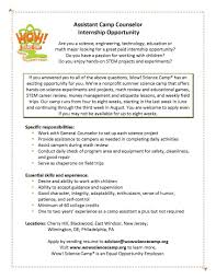 sample resume for counseling internship augustais file info