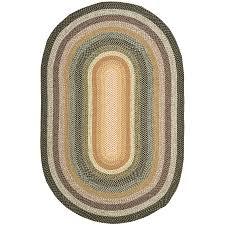 Oval Area Rugs Shop Safavieh Braided Adam Oval Indoor Handcrafted Coastal Area