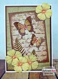 butterfly garden collage stamp ideas