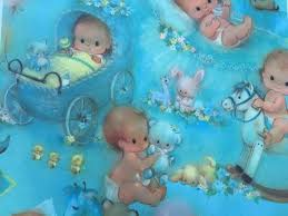 baby boy wrapping paper 76 best vintage gift wrap images on gift wrapping