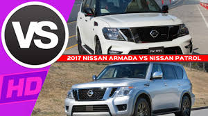 nissan patrol super safari 2016 2017 nissan armada vs nissan patrol comparison youtube