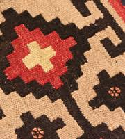 Cheap Kilim Rugs Kazak Fair Trade Bunyaad Rugs