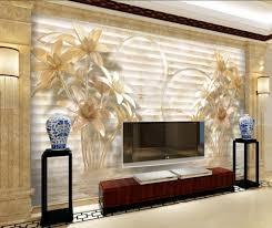 Wallpaper Design Home Decoration Online Get Cheap Lily Wallpaper Aliexpress Com Alibaba Group