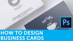 how to design a business card in adobe photoshop solopress
