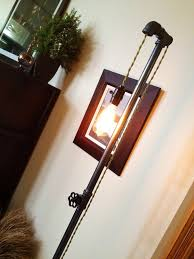 edison light floor lamp plumbing pipe lamp steampunk furniture