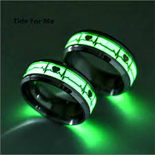 aliexpress mood rings images 2017 new fashion creative 8mm luminous mood ring glow women gold jpg