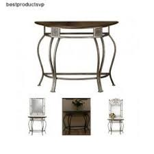 Ebay Console Table by Black Hallway Table Furniture Wood Console Accent Entryway Sofa