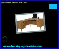 free computer desk plans 102755 woodworking plans and projects