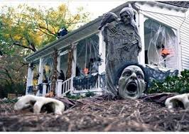 Outdoor Decorations For Halloween by 36 Never Seen Wicked Outdoor Halloween Decorations For A Spine
