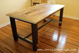 reclaimed wood farmhouse table reclaimed wood farm table do it yourself home projects from ana