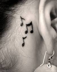 tattoo neck behind ear 64 fantastic music neck tattoos