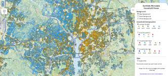Map Pattern Us Households On Web Maps Geoawesomeness