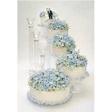 wedding cake stand 5 tier cascading stairway cake stand set wedding cake stands