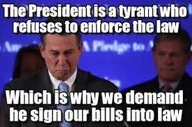 Boehner Meme - republican logic boehner meme on memegen