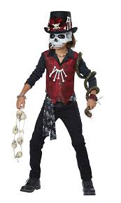 Childrens Scary Halloween Costumes Kids Scary Voodoo Hex Costume Costume Craze
