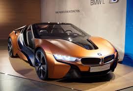 concept bmw i8 bmw i8 spyder i vision concept shows off future tech car pro