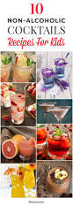 10 delicious non alcoholic cocktails recipes for kids alcoholic