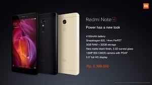 erafone redmi 4 redmi note 4 redmi 4x officially launched in indonesia newswire