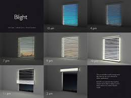 Solar Powered Window Blinds Solar Blinds Stores Power By Day Shines By Night Apartment Therapy