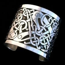 replica viking celtic silver bracelets