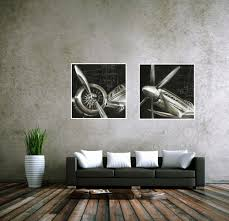 Wall Art For Living Room by Aliexpress Com Buy Cuadros Decoracion Vintage Airplane Paintings